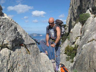 L'alpinista Giuliano Stenghel