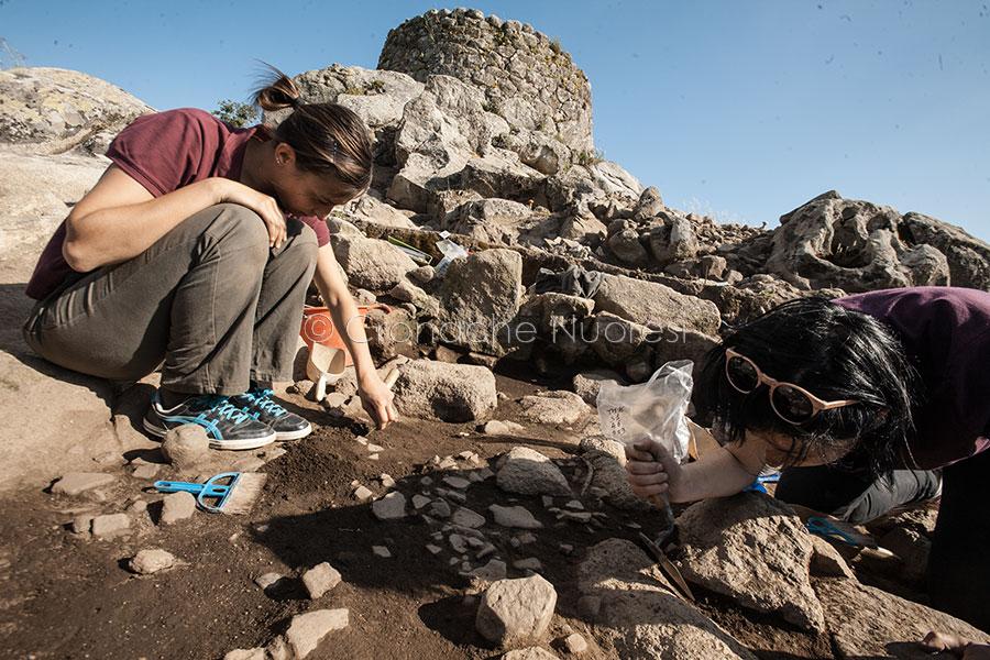 Scavi nell'area archeologica di Tanca Manna