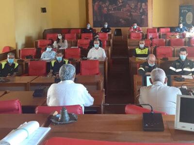 La riunione del Coc a Nuoro