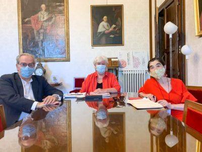 Francesco Marongiu prorettore, Maria Del Zompo Rettore , Maria Antonietta Rete Ad Adiuvandum