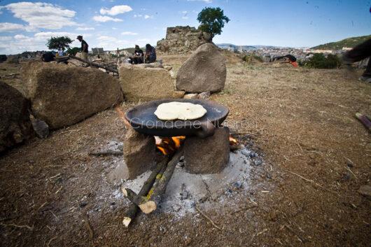 Tanca Manna, cottura del pane
