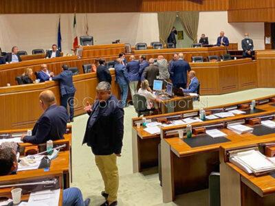 La seduta odierna del Consiglio regionale sospesa