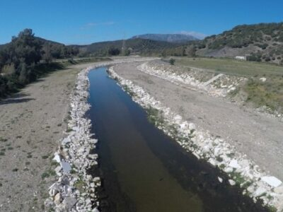 L'alveo del rio Sologo messo in sicurezza