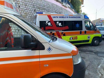 I soccorsi sul luogo dell'incidente a Meana