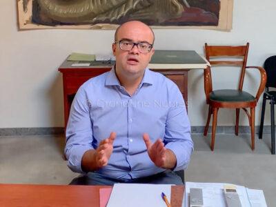 Il sindaco di Lanusei Davide Burchi