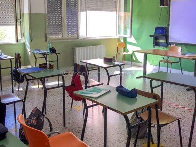 La scuola ai tempi del Covid (foto F. Novellu)