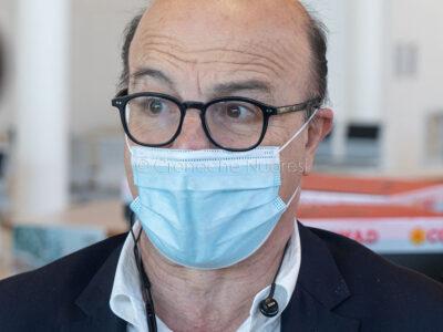 L'assessore alla Sanità Mario Nieddu (foto S.Novellu)