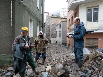 Bitti, distruzione dopo l'alluvione (© foto S.Novellu)