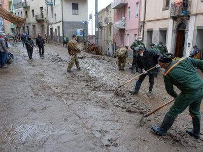Bitti. Distruzione dopo l'alluvione (f. S. Novellu)