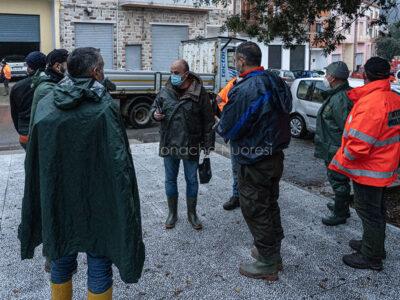 Bitti, il sindaco Ciccolini predispone il COC (© foto S.Novellu)