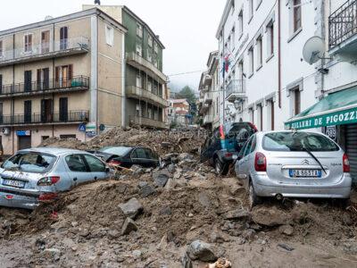 Bitti, la distruzione il giorno dopo l'alluvione (© foto S.Novellu)