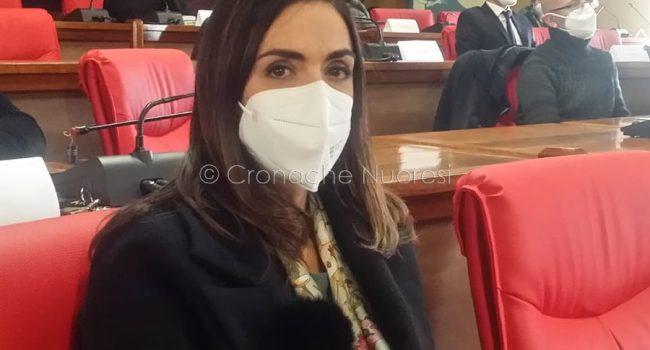 L'assessore Comunale Eleonora Angheleddu