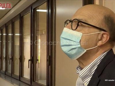 L'assessore alla Sanità Mario Nieddu intervistato da La7