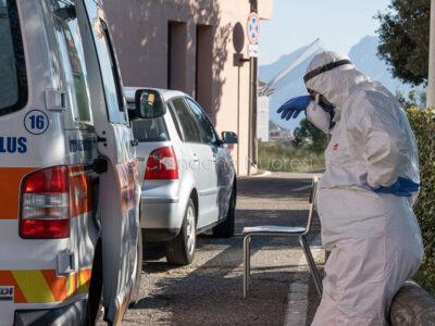 Nuoro, Operatore 118 al Pronto soccorso del San Francesco (© foto S.Novellu)