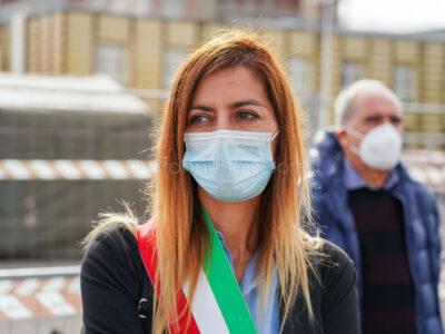 Il sindaco di Fonni Daniela Falconi (foto S.Novellu)
