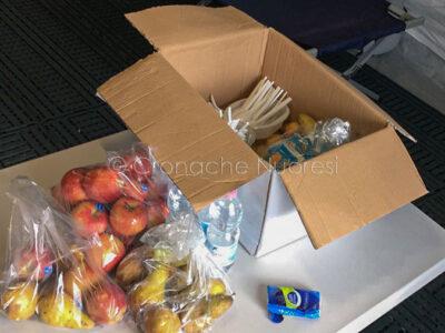 Una parte delle dettate alimentari messe a disposizione degli operatori 118