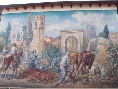 Uno dei murales si San Sperate