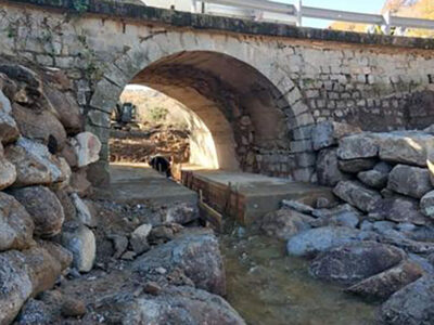 Bitti, il ponte sulla 389