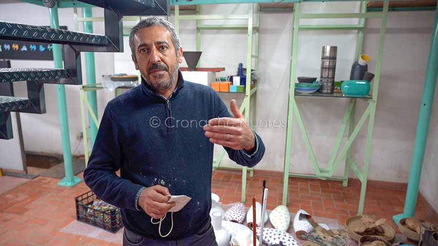 Il titolare di Terra Pintada Robert Carzedda (foto S.Novellu)