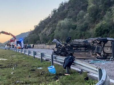 La scena dell'incidente nella foto di un lettore