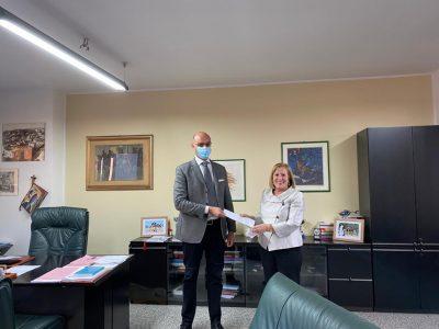 Marcello Tidore, direttore generale Assessorato Sanità e Gesuina Cherchi, commissario ASSL Nuoro