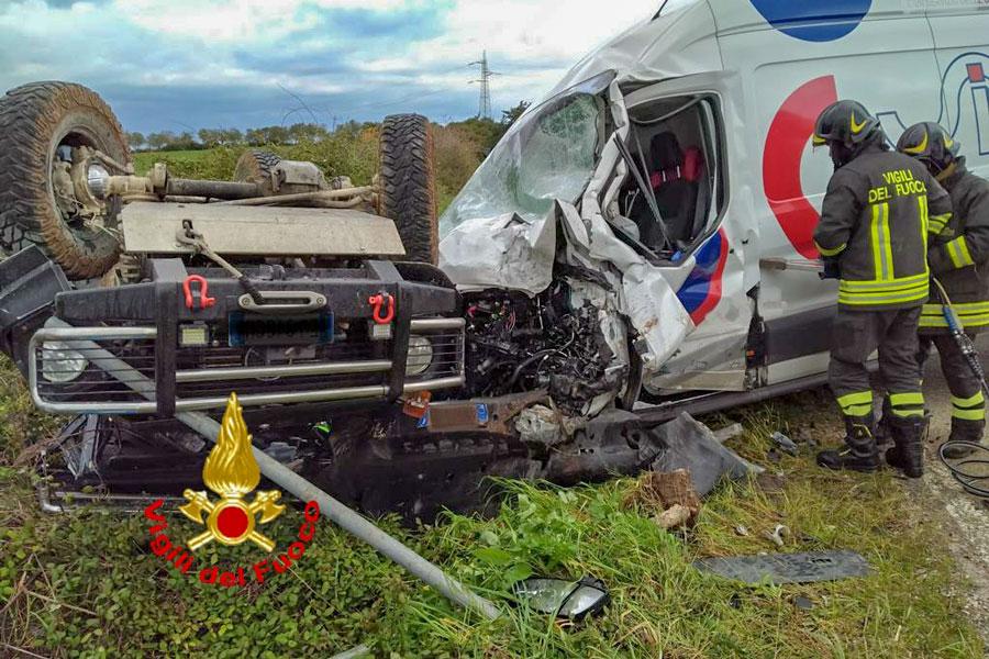 L'incidente a Sassari