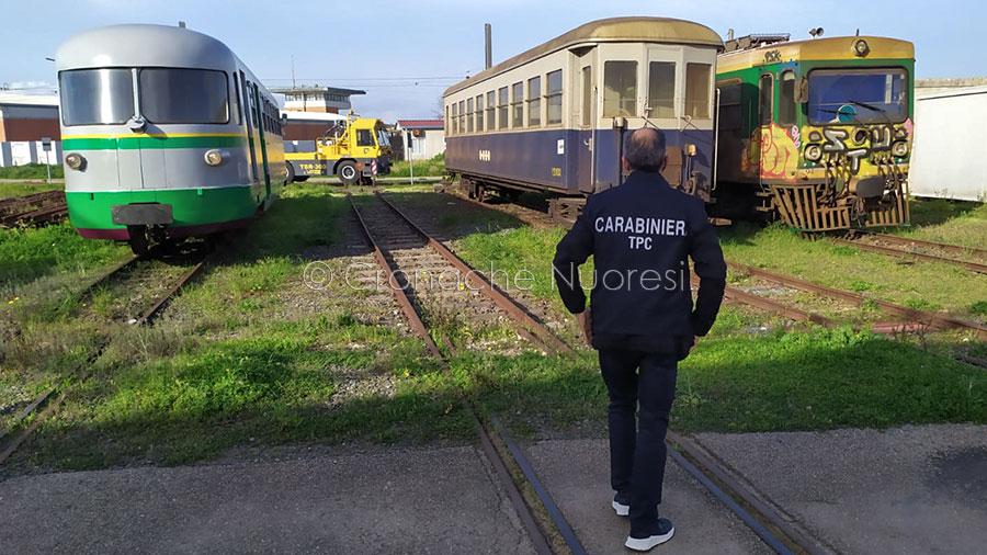 Carabinieri i Fiamme Gialle sequestrano treni d'epoca