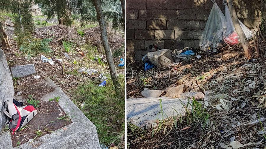 Nuoro. è-comune ripulisce due volte una gradinata sporcata dagli incivili: il ringraziamento dei residenti