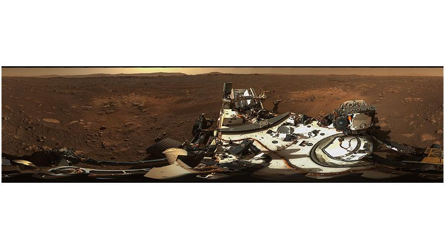 Da Perseverance arriva la prima foto panoramica di Marte  a 360° in alta risoluzione