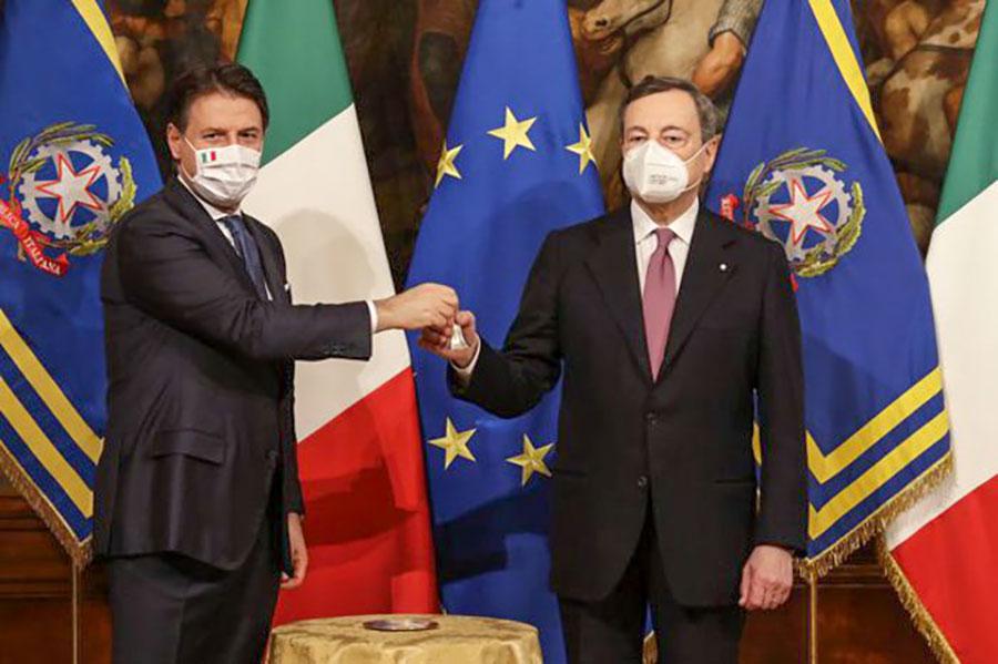 """Governo Draghi. Il giuramento e il primo Consiglio dei ministri: """"lavoreremo coesi e senza interessi di parte"""""""