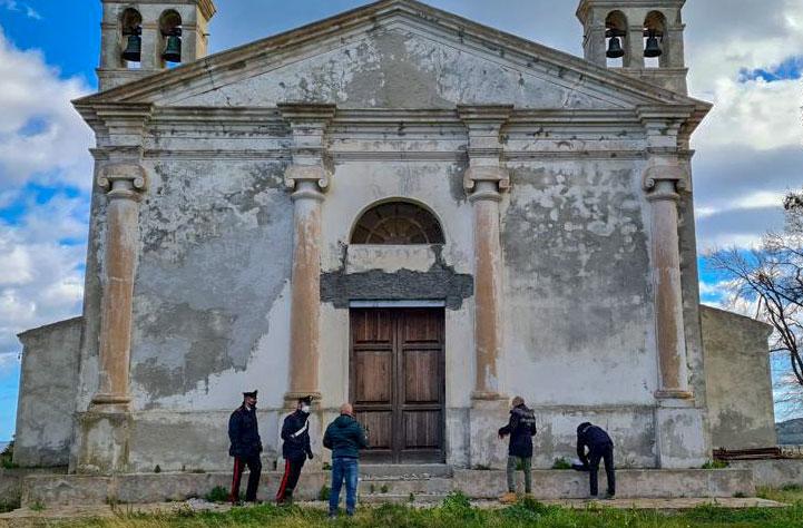 Siniscola. I Carabinieri sequestrano il Santuario campestre di Sant'Elena