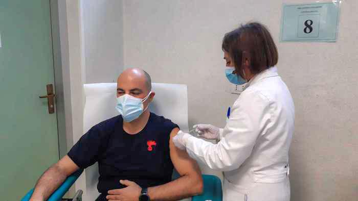 Covid. Iniziata la vaccinazione delle Forze dell'ordine