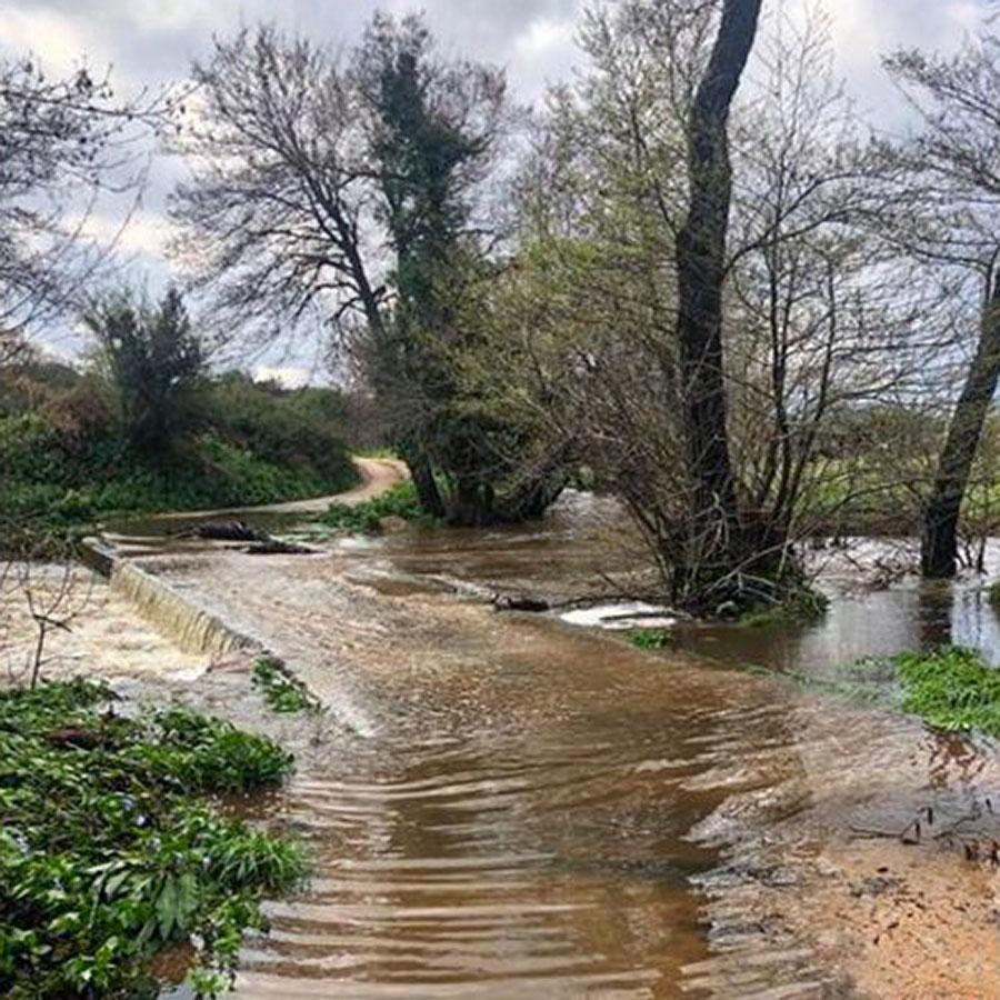 Maltempo. Esonda torrente: strade e scuole chiuse a Luogosanto