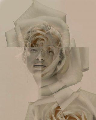 Giovanni Gastel, un ritratto della serie Rose