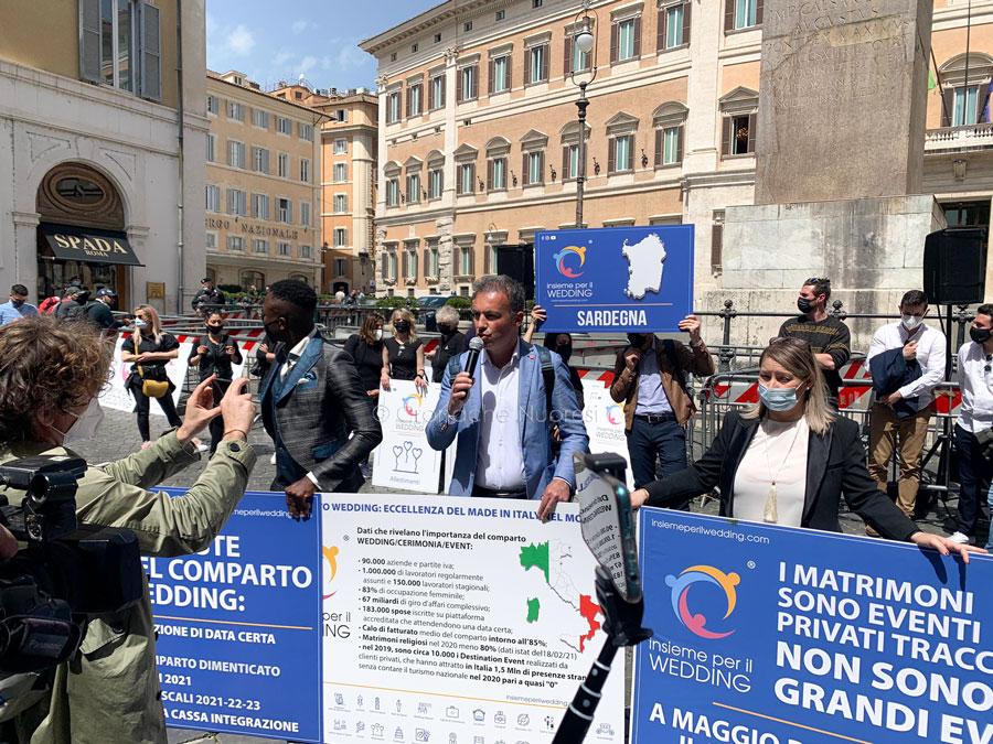 Wedding. 17 mila lavoratori sardi disperati: ieri a Montecitorio la delegazione dall'Isola