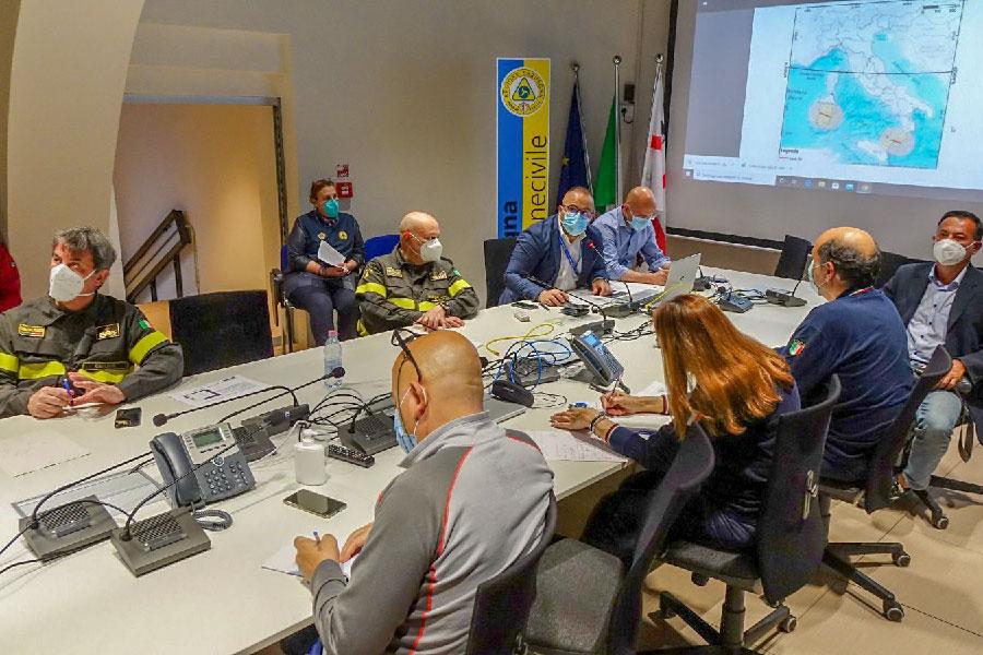 La Protezione Civile Sarda in riunione per monitorare il rientro del razzo cinese in atmosfera