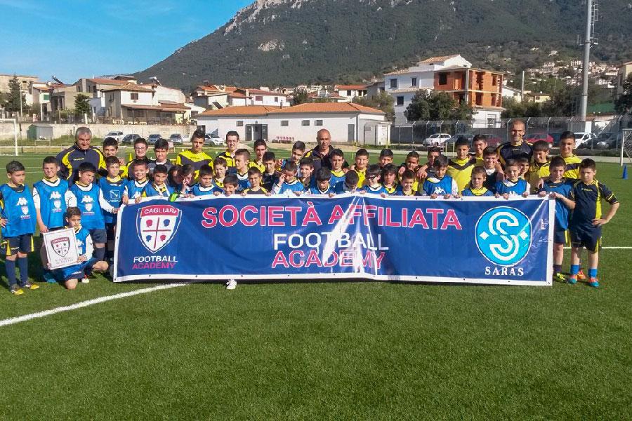 A Oliena il quadrangolare Football Academy Cagliari: alto spettacolo con le migliori squadre giovanili