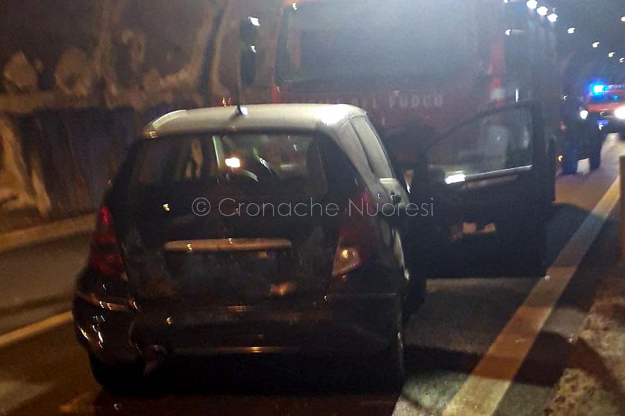 Nuoro. Incidente dentro la galleria di Prato Sardo: tre veicoli coinvolti e sei feriti