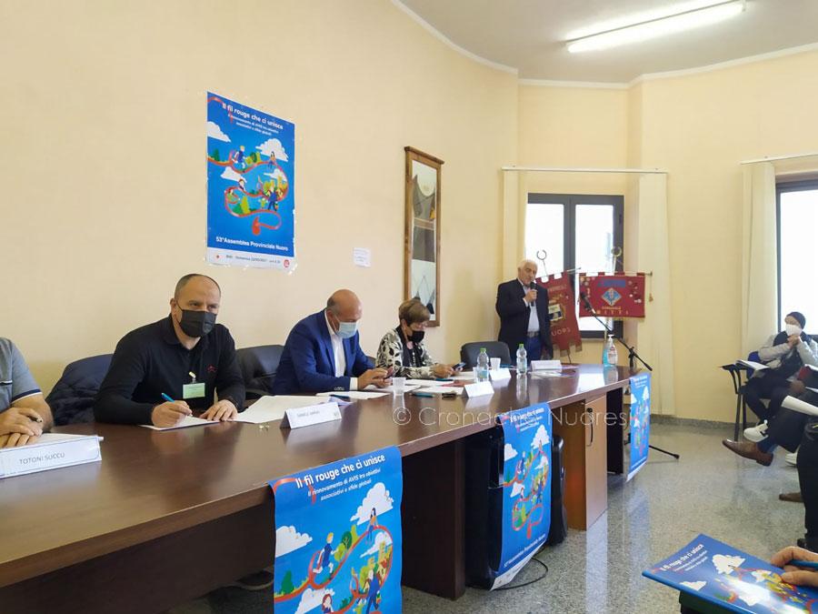 Mario Trazzi è stato riconfermato presidente provinciale dell'AVIS – Nuoro