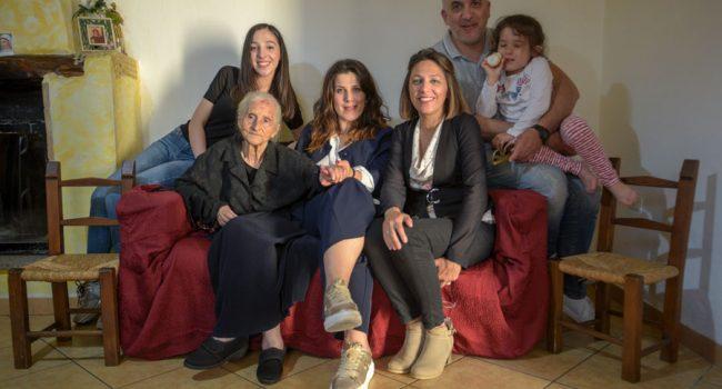 Silvia Flore e la sua famiglia