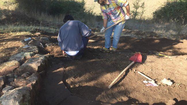 Scavi nel complesso archeologico di Cuccuru Mudeju