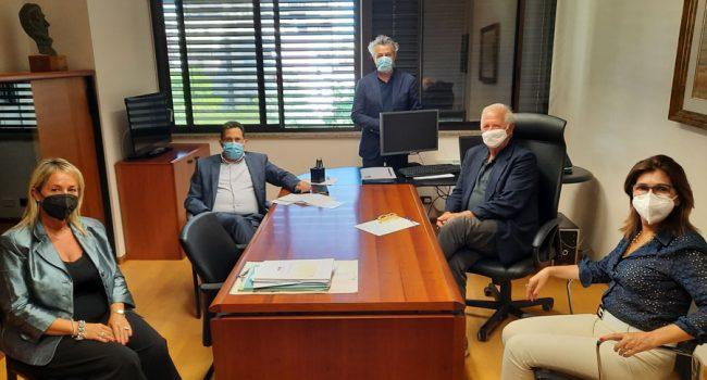 Incontro  Cagliari tra dirigenti Area e Elena Fancello