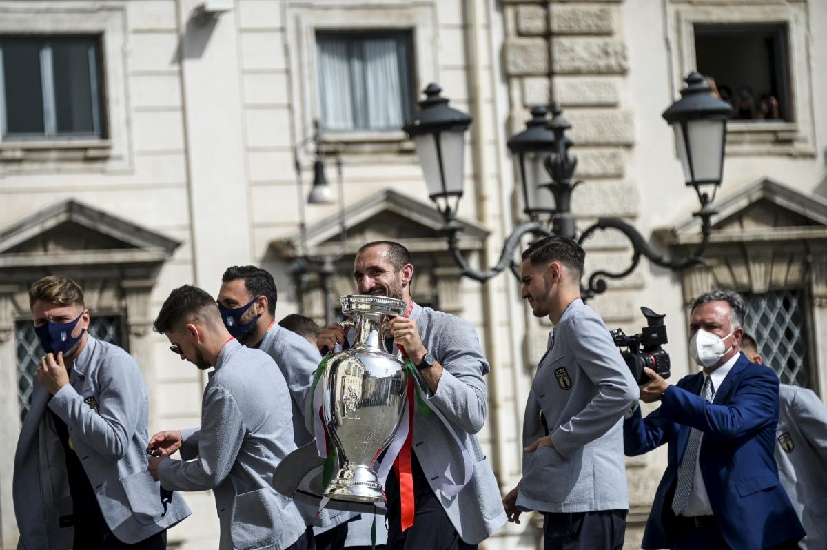 """Mattarella riceve gli Azzurri: """"Una vittoria meritata"""""""