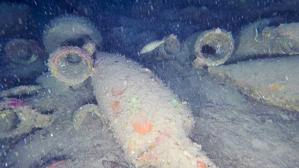 Isola delle Femmine, ritrovata nave romana a 92 metri di profondità