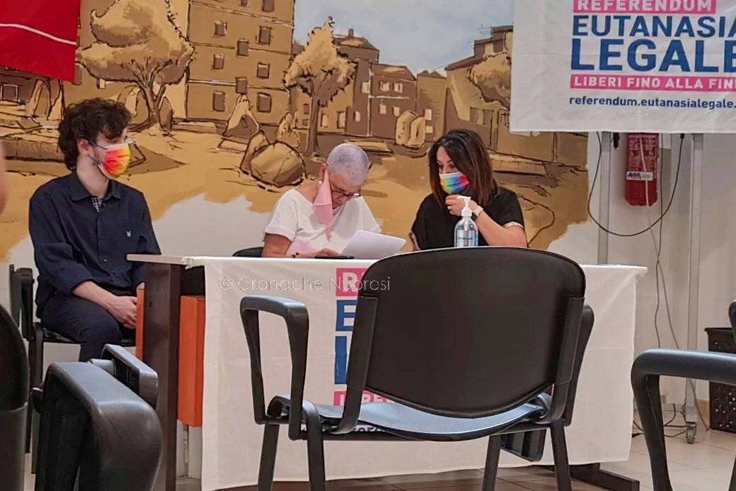 Anche a Nuoro si può firmare per il referendum sull'eutanasia legale