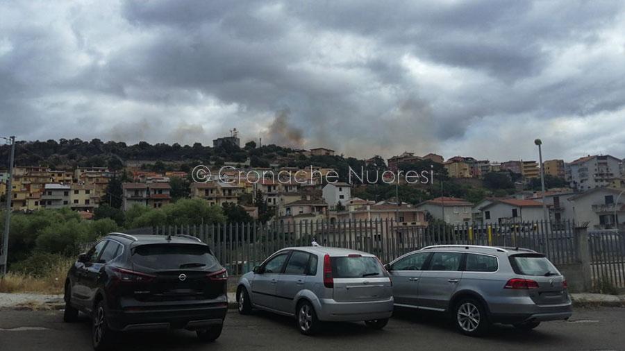 Pesante il bilancio dell'incendio a Nuoro: 7,5 ettari in cenere, evacuate 4 famiglie e la sede di Abbanoa