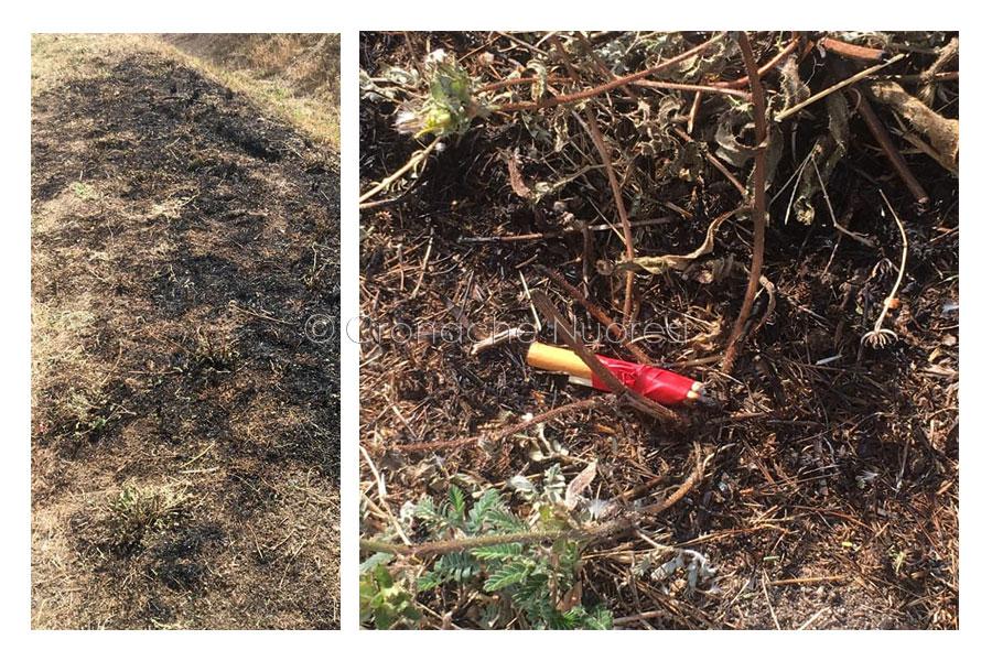 Miccia incendiaria rinvenuta a Oniferi: poteva essere l'ennesimo disastro ambientale