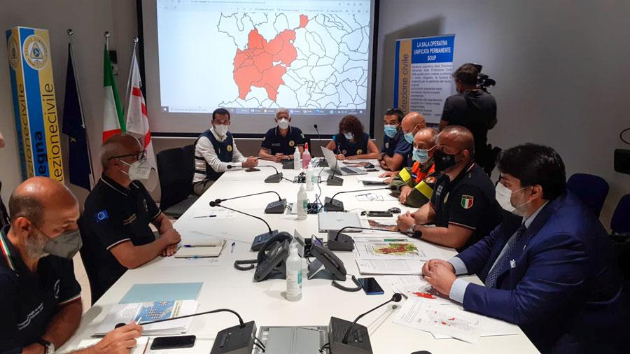 Incendio nel Montiferru:  Vertice in Regione con Curcio per fare il punto della situazione