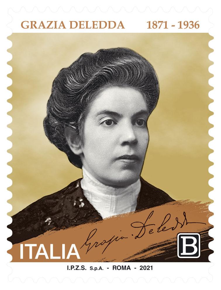 Nuoro. Emesso il francobollo commemorativo del premio nobel Grazia Deledda