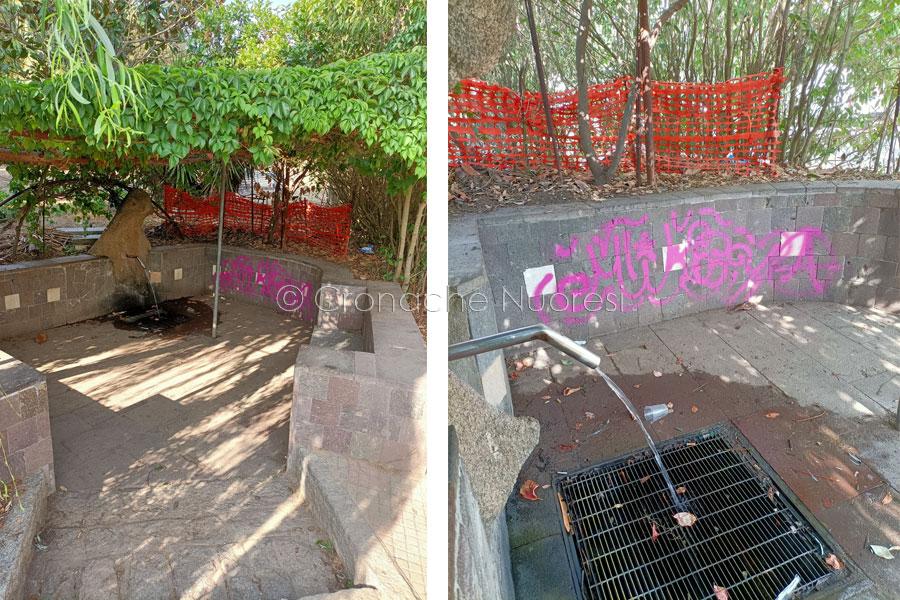 Nuoro. Il giardino di Funtana Buddia ostaggio dei vandali